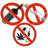 Скажи наркотикам, алкоголю и другим вредным привычкам - нет